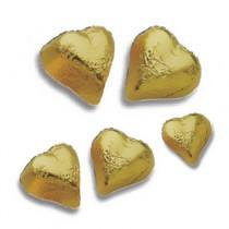 Chocolates Hearts Gold
