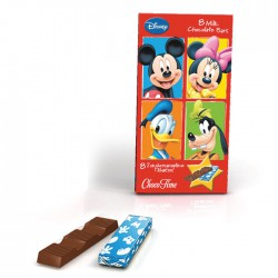 Milk Chocolate Bars Mickey Trilogy