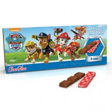 Milk Chocolate Bars Paw Patrol