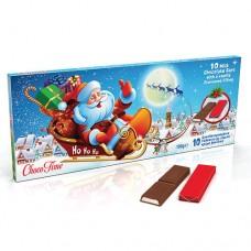 Milk Chocolate Bars Santa Sleigh
