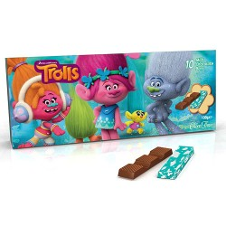 Milk Chocolate Bars Trolls