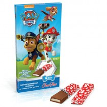 Milk Chocolate Bars Paw Patrol