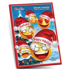 Christmas Calendar Happy Faces