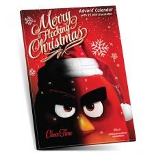 Christmas Calendar Angry Birds