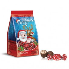 Santa Christmas Bag with Mini Eggs