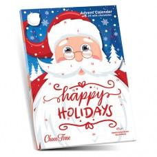 Christmas Calendar Santa Sleigh