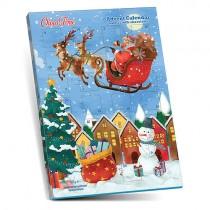 Christmas Calendar Santa Claus Vintage
