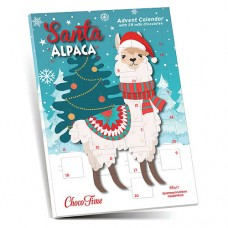 Christmas Calendar Santa Alpaca