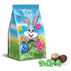 Milk chocolate eggs Easter Rabbit