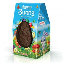 Easter Box with Chocolate Eggs Happy Bunny